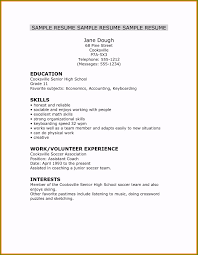 Resume Templates For New College Graduates Customized 5 Cv Template