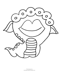 Small Picture Image Cute Monster Coloring Sheets 17182 Bestofcoloringcom