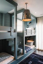 Best Kids Rooms Bunk Beds BuiltIns Images On Pinterest - Built in bedrooms