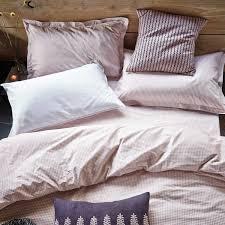 tile blush bed linen luxury bedding by murmur grey