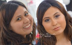 july 13 2016 author amy miranda no ments categories before and after makeup looks s bronze dess latina wedding makeup