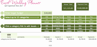 wedding budget template for excel wedding budget template excel best of excel wedding planner