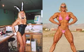Women bodybuilders clitoris growth