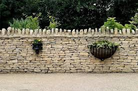 build a low stone garden wall