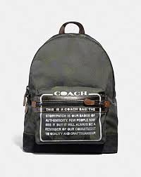 ACADEMY BACKPACK WITH WILD BEAST PRINT AND STORYPATCH ...