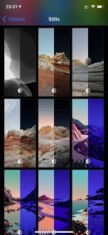 New wallpapers in iOS 14.2 dev beta 4 ...