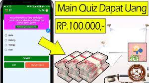 Aplikasi penghasil uang tanpa deposit. Lilyquiz Aplikasi Penghasil Uang Main Quiz Dapat Uang Rp 100 000 Youtube