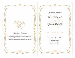 Wedding Program Scroll Wedding Program Heart Scroll Design