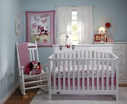 disney minnie s garden crib bedding collection