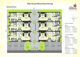 row house floorplan unique of modern row house designs images