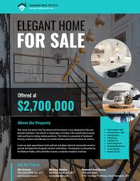 Selling Flyers Modern Real Estate Flyer Template Venngage