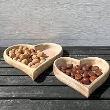 white washed mango wood. The Farmer\u0027s Market Heart Shaped Trays, Set Of 2, Artisan Crafted, Mango  Wood White Washed Mango Wood
