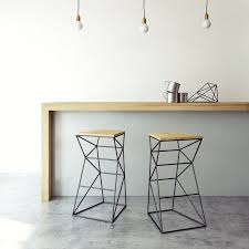 steel furniture designs. high chairs wood and black steel dream homes furniture designs