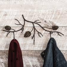 Pine Coat Rack Pine Branches Wall Coat Rack 36
