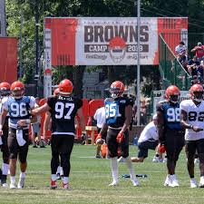 Cleveland Browns Rb Depth Chart Cleveland Browns First Depth Chart Of Training Camp Dawgs