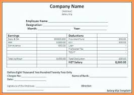 Download Payslip Template Unique Salary Slip Format Word Doc Fresh Professional Payslip Templates