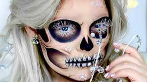 arctic skeleton makeup tutorial nyx face awards 2016 entry brianna fox you