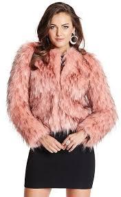 lula faux fur jacket