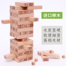 Wooden Bricks Game Stacker game from the best taobao agent yoycart 68