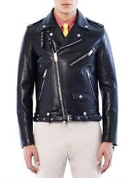 Burberry Prorsum Size Chart Burberry Prorsum Black Leather Biker Jacket Jackets