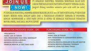 Maybe you would like to learn more about one of these? Lowongan Kerja Kawasan Dwipapuri Rancaekek 2021 Terlengkap 2021