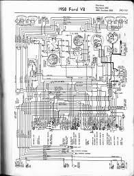 57 65 ford wiring diagrams 1958 6 cyl all models