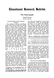 The Psychograph