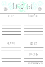 todo checklist pretty little inspirations free printable to do list cool stuff