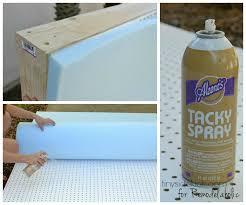attach the foam and batting