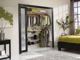 reach in closet sliding doors. Bedroom, Modern Reach In Closet Design With Glass Sliding Door Silver Vase On Black Square Doors B