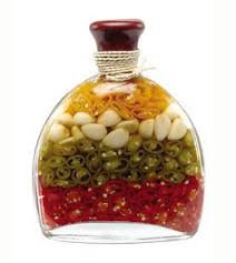 Decorative Oil Jars LIMONE Decorated Vinegar Bottle Infusions Pinterest Vinegar 25