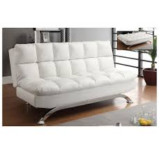 whi sussex futon white  wt  modern furniture canada