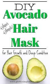 diy deep conditioner avocado hair mask