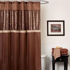 brown fabric shower curtains. Brown Shower Curtain Color Fabric Curtains