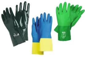 Butyl Glove Chemical Resistance Chart Material Guide For Chemical And Liquid Resistant Gloves