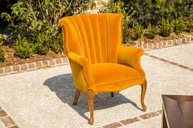 Lounge Furniture  Vintage Mustard Yellow Side Chair Yellow Side Chair I12