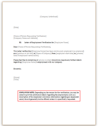 You just got approved for your first apartment! Employment Verification Letter