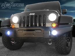 FORTEC FT UP 7G H16W CR 30W FT UP 7G H10W CR 30W High Powered LED Fog Lights for 07 up JK 6