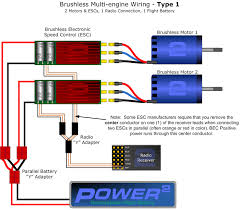 brushless motor esc wiring diagram wiring diagrams multi esc wiring 2bfly