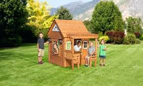 wood playhouse cascade playhouse childrens wooden playhouse plans free