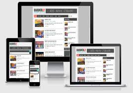 Blogger Mobile Template Harderly Responsive Blogger Template Free Download