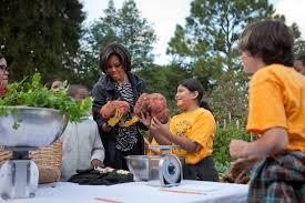 Michelle Obama Kitchen Garden The First Ladys Fall 2010 Kitchen Garden Harvest Whitehousegov