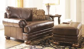 Ottoman In Living Room How To Decorate Living Room With Leather Chair Ottoman Roy Home