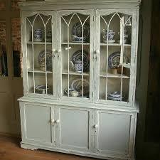 White Kitchen Dresser Unit Kitchen Kitchen Cabinet Display Showroom Displays And Display