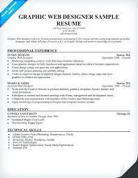 Web Design Resume Template Sarahepps Com