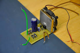 simple adjustable power supply ec projects com now er the wires where they belong you want to install everything in the case first
