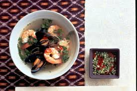Sour Prawn And Mussel Soup Fresh Recipe ...