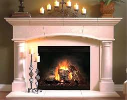 rustic fireplace mantels indoor with corbels