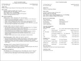 resume examples umd sample resume stacy stagemanager