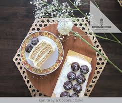 Earl Grey Coconut Cake Cake Delivery Singapore Dough Empire